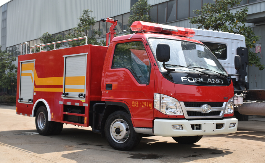 消防车的夹心取力器的作用和怎么安装