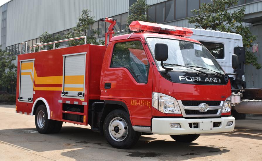 消防车厂家说说小型和微型消防车有哪些优势?