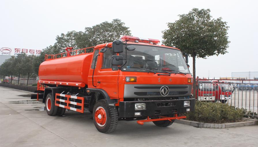 消防洒水车的刹车片什么时候更换最好?