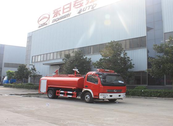 东风凯普特3.5吨消防洒水车