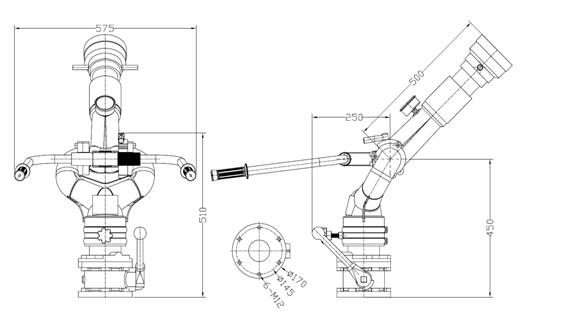 30-40型消防炮详细图解