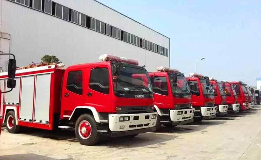 新东日专汽来谈谈城市主站消防车未来趋势及作用要求