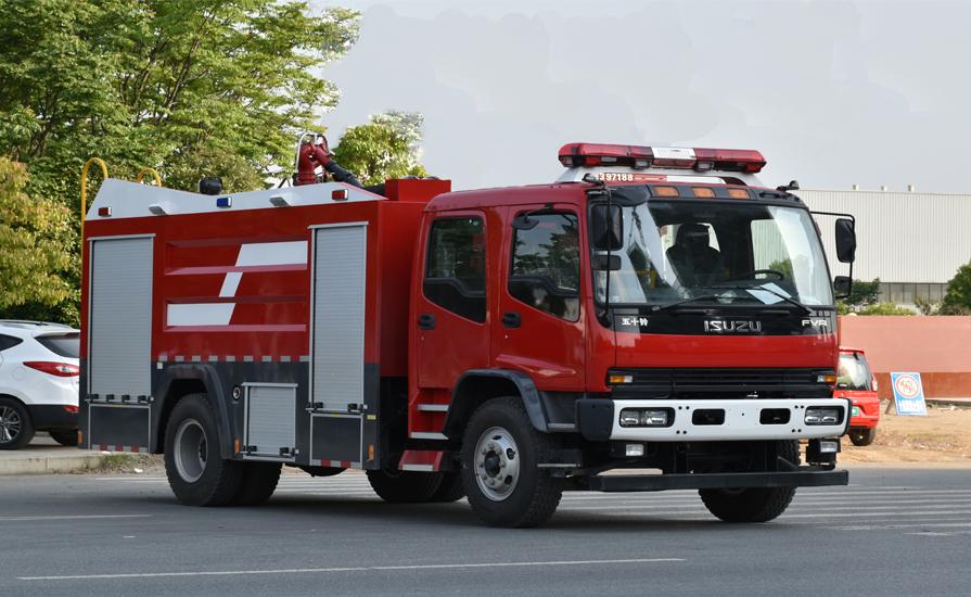 新东日专汽为大家讲解泡沫消防车的转动系统出现问题如何解决?