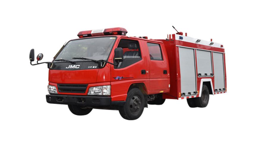 江铃1.5吨水罐消防车