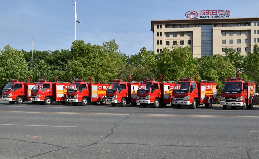 消防车行业新品牌正在诞生以后将百花齐放百家争鸣