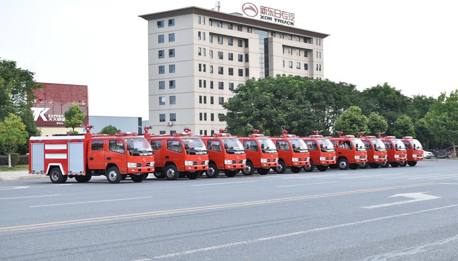 消防车厂家新东日专汽说说消防人员每日检查消防车有哪些内容