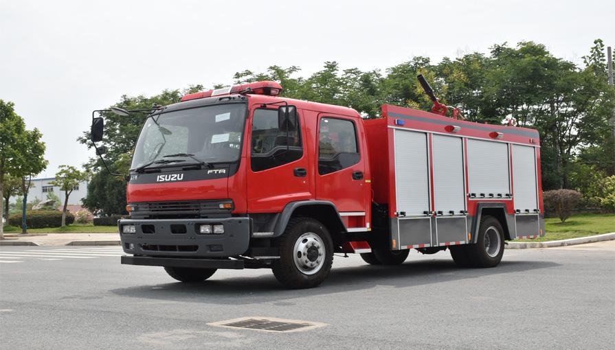 消防车厂家讲解干粉消防车在使用过程中出现故障的解决方法