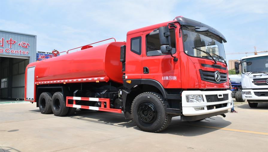 消防车与消防洒水车要怎么区分