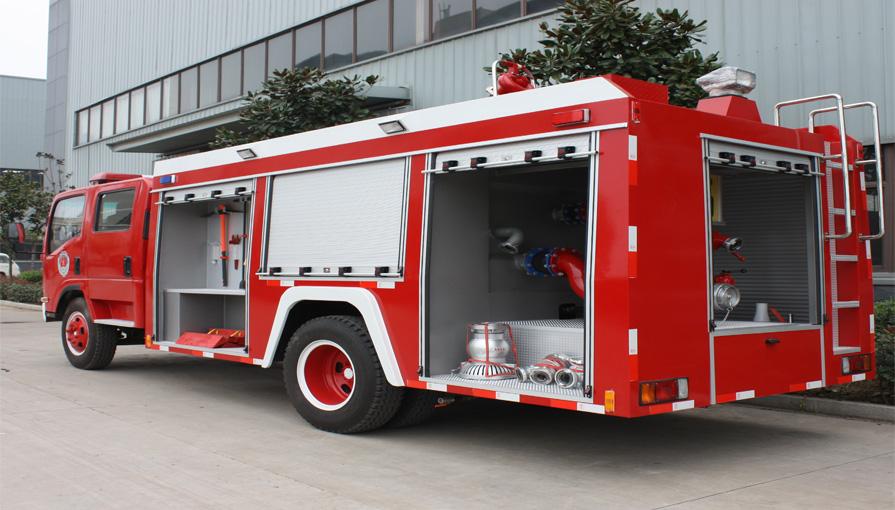 鸭脖手机版登录新东日专汽讲解消防泵中置和后置都有哪些优缺点呢