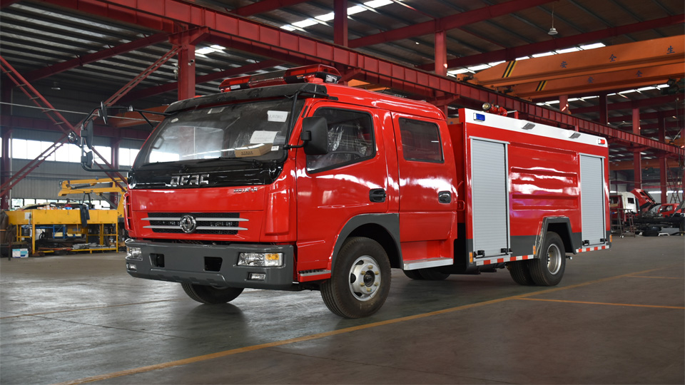 豪沃消防车有哪些特点