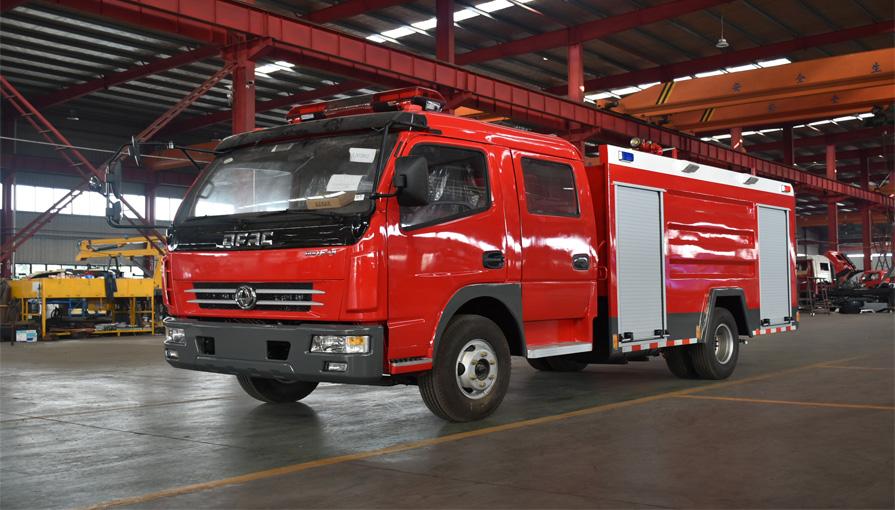 消防车厂家新东日专汽来说说消防车3C认证有什么用?