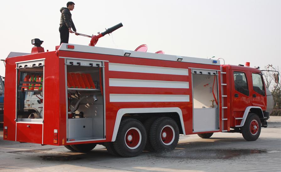 小型民用消防车都有哪些特点?