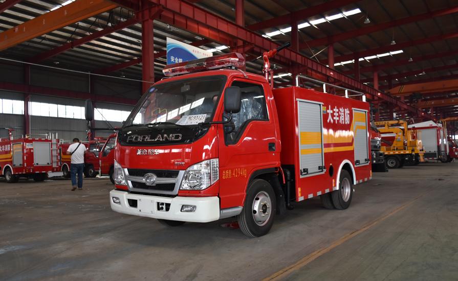 哪些类型的消防车适合农村乡镇用呢