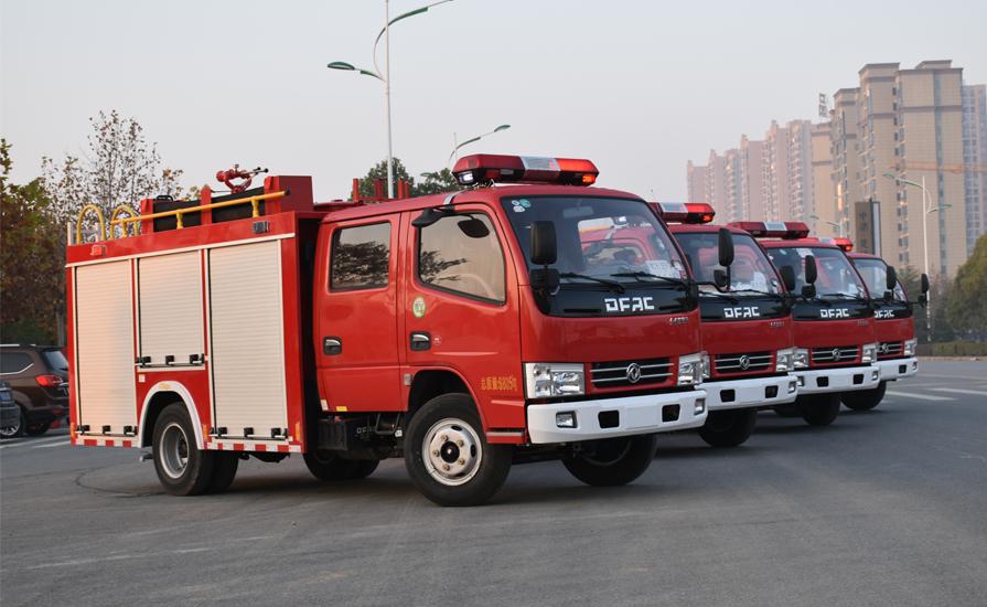 消防车厂家教大家消防车常见故障处理方法