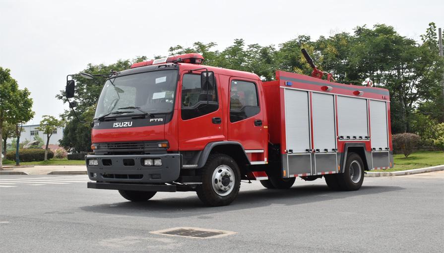 鸭脖手机版登录新东日专汽为大家讲解消防车在冬季行驶如何做好防滑