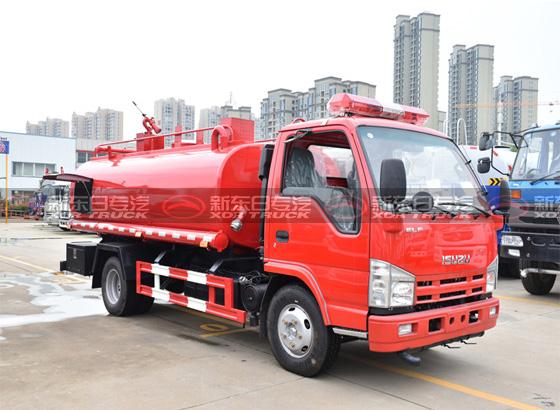 五十铃单排6吨消防洒水车