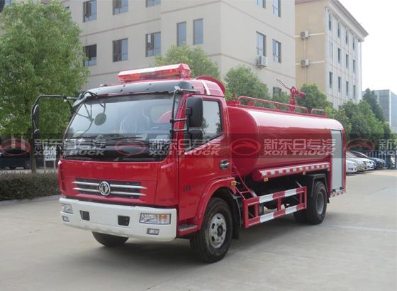 东风多利卡7吨消防洒水车