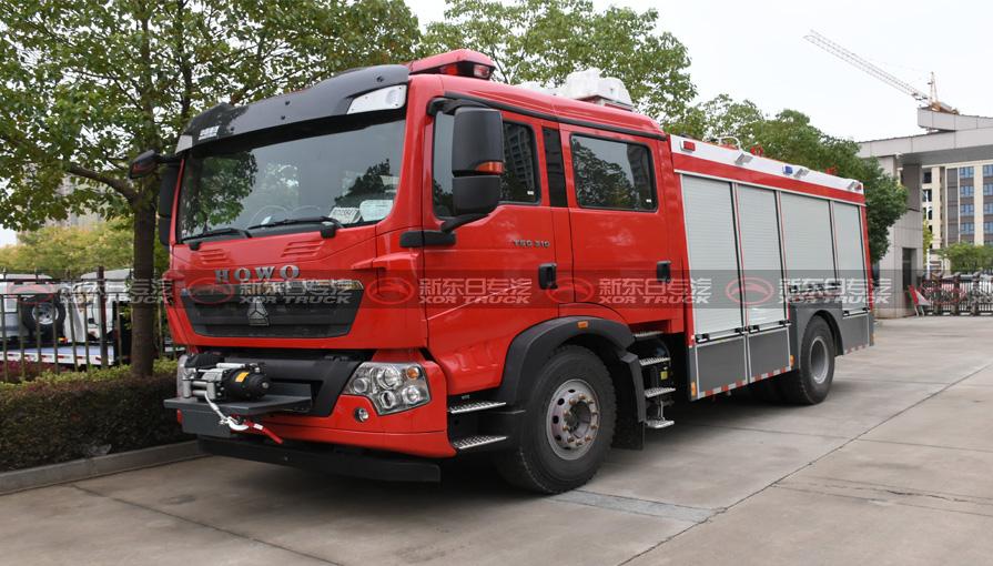 鸭脖手机版登录新东日专汽谈谈消防车车轮摆动所引发哪些问题