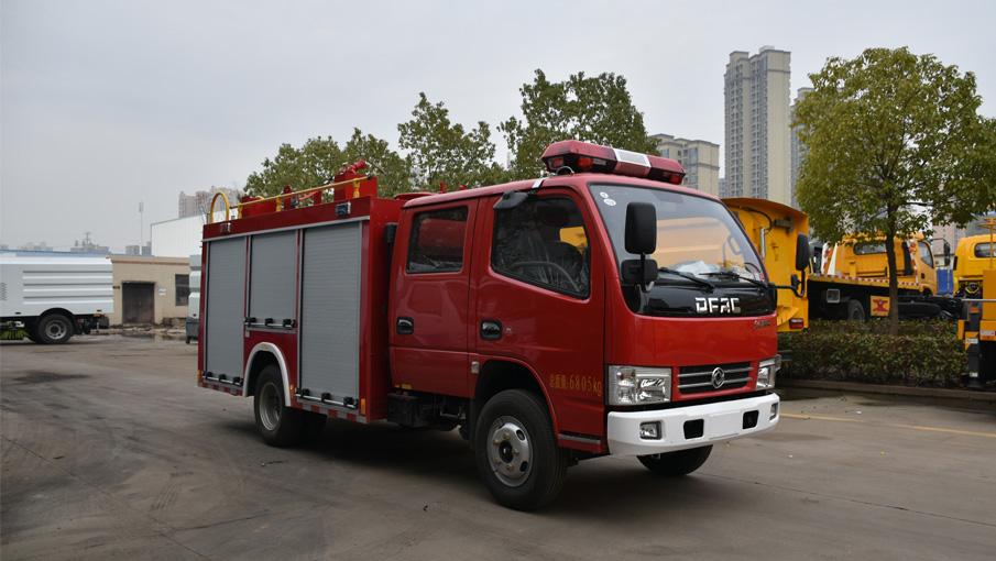 水罐消防车与消防洒水车有什么区别呢