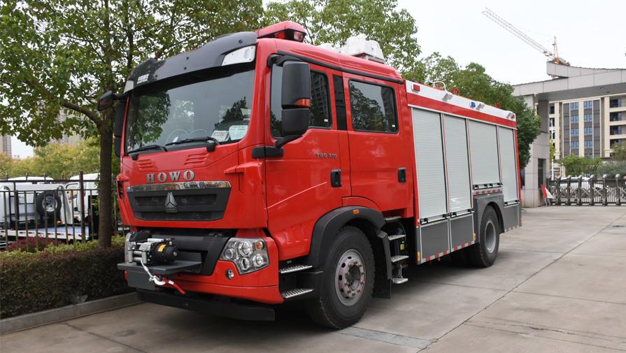 在冬季消防车有哪些保养常识和注意事项?
