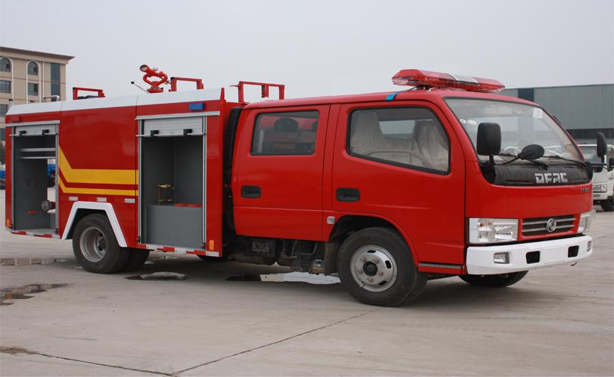 消防车在设计的时候就注意的哪些性能