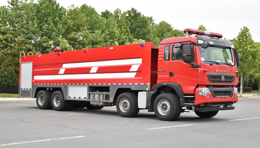 水罐消防车的结构组成和功能配置