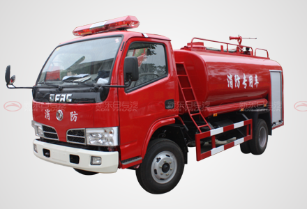 东风福瑞卡单排4吨消防洒水车