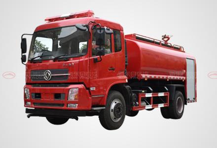 东风天锦单排10吨消防洒水车