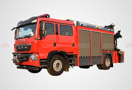 T5G豪沃抢险救援消防车