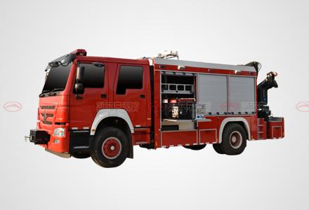 国五豪沃抢险救援消防车