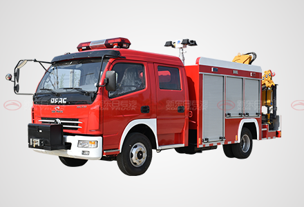 东风多利卡双排抢险救援消防车