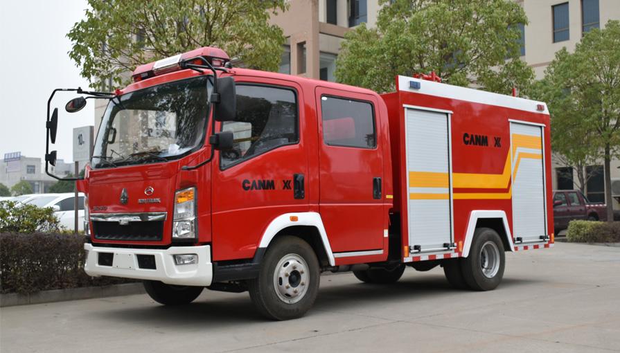 消防车厂家新东日专汽对消防车在冬季保养提几点建议