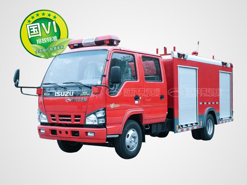 国六五十铃600P水罐消防车