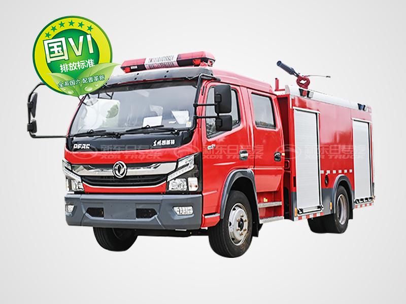 国六东风5吨多利卡泡沫消防车