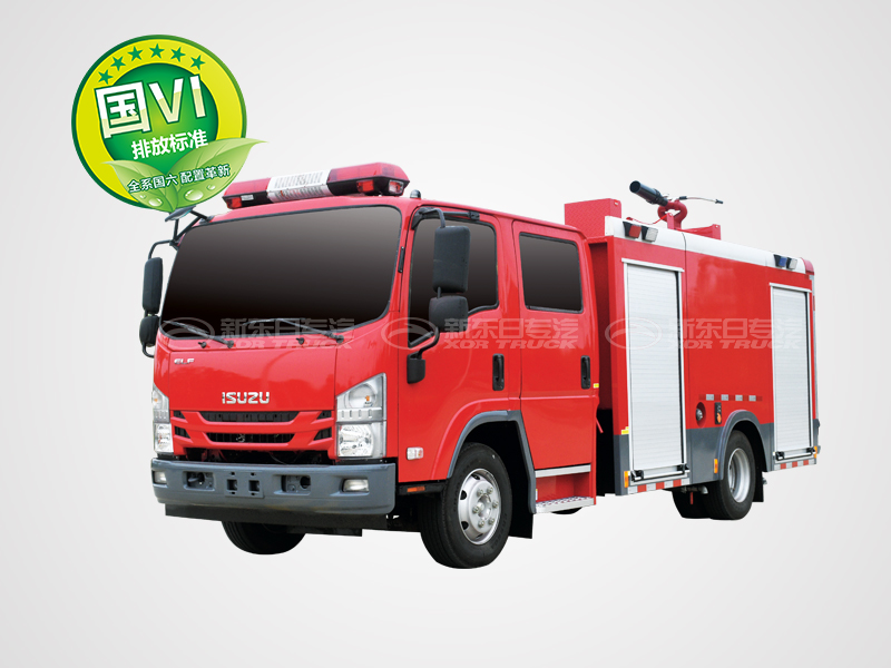 国六3.5吨五十铃700P水罐消防车