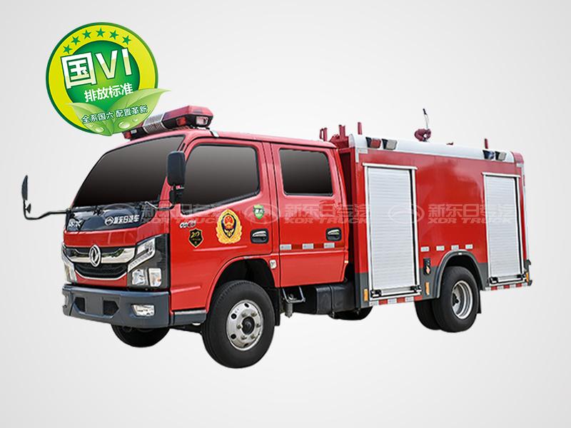国六多利卡2.5吨水罐消防车
