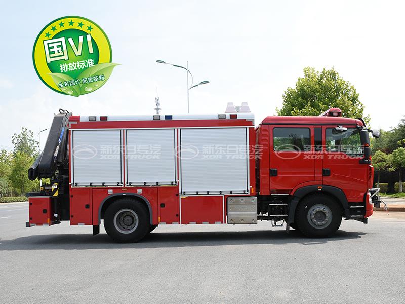 新东日牌 国六T5G抢险救援车